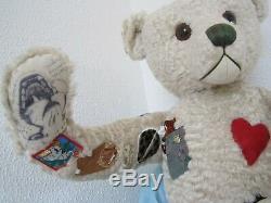 Artiste Multi 43 Articulé Tbai 2001 Humpback Teddy Bear Artiste Invitational! Sensationnel