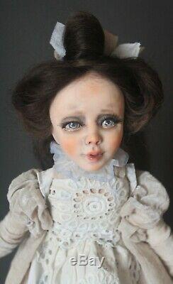 Artiste Ooak Doll Fabienne