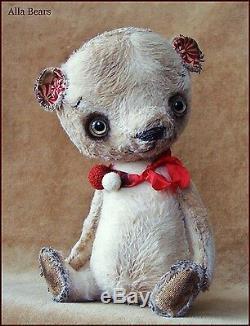 Artiste Original Alla Bears Old Vintage Ours En Peluche Art Main De Poupée En Jouet Pour Bébé