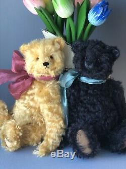 Artiste Ours Rhymes Ours En Peluche Darcy, Ours Ooak