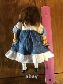 Artiste Rare Robert Neuenschwander Wood Jointed Girl Doll Dated'96