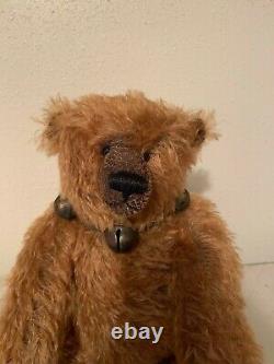 Artiste Signé Original Teddy Bear