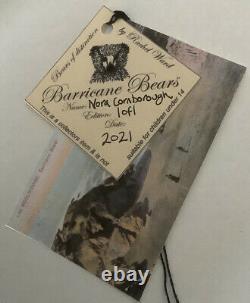 Artiste Teddy Bear Nora Cornborough Par Barricane Bears 2021