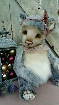 Aurora Coco Et Clare Handmade Ours Ooak Collectionneurs Ours Artiste Bear 21