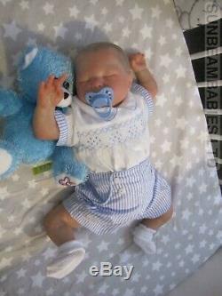 Baby Boy Réel Réincarné 20 Spencer Dickison Par L'artiste Dan À Sunbeambabies Pvhg