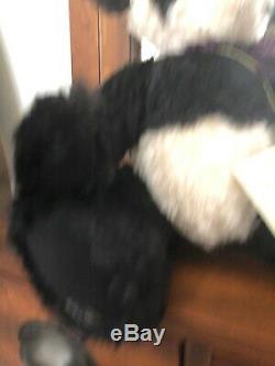 Barbara Horst Artiste Mohair Panda Teddy Bear Ooak