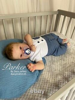Bébé Garçon Renaissant (patience Realborn Avec Coa) Down Syndrome Bébé Poupée Royaume-uni Artist