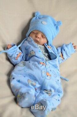 Bébé Reborn Poupées Cadeau Pour Le Collectionneur, L'artiste Olga Konovnina