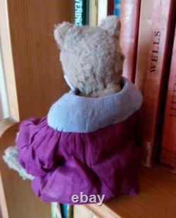 Belle Elena Karasenko Bear'charlotte ' 17cms De Haut, Viscose Fabuleux