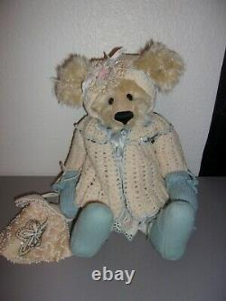 Bessie Pull Fille Susan Corne Teddy 16 Mohair Teddy Bear 1995 One Of A Kind