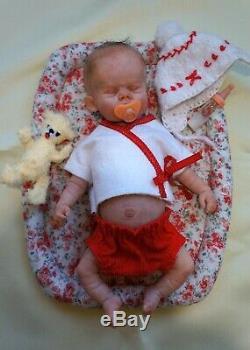 Betty Bjd Doll Ooak 23 CM 9 Artiste Doll Par Svetlana Grishko Réalisme Réaliste