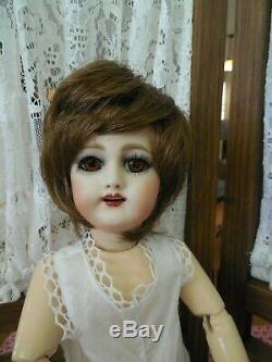 Bleuette Doll 301 Antique Doll Français Reproduction-4 Perruques-artiste Aube J