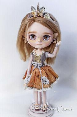 Blythe Doll Sur Mesure Ooak Blythe Poupée Artiste Par Yumi Camui