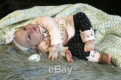 Bountiful Miel Bébé Reborn Ultra Bébé Réaliste Baby Doll New Ooak Artiste