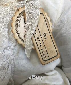 Charme Antique Style Ooak Main Mohair Ours En Peluche Par Vivianne Galli Eve