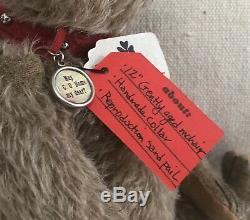 Charme Ooak Main Mohair Teddy Bear Par Pat Murphy Weldon