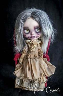 Custom Blythe Doll Ooak Blythe Artist Doll Par Yumi Camui Mutilated Mabel