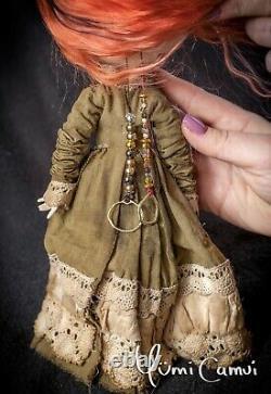 Custom Blythe Doll Ooak Blythe Poupée Artiste Par Yumi Camui
