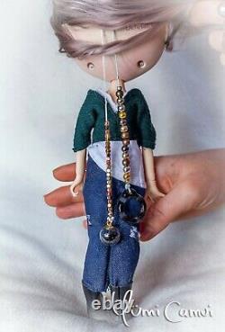 Custom Blythe Poupée Ooak Blythe Poupée Artiste De Yumi Camui
