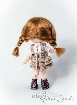 Custom Doll Ooak Repeindre Holala Poupée Artiste De Style Par Yumi Camui