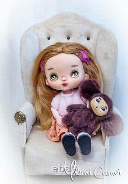 Custom Doll Ooak Repeindre Holala Style Poupée Artiste Par Yumi Camui