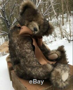 Daria Ivkina Russe Teddy Bear Artiste Oliver One-of-a-kind