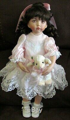 Dianna Effner Artiste Porcelain Doll Poupée 15'