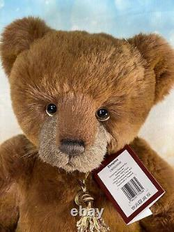 Dimplies Charlie Bears Secret Collection! Paw Store Special Velvet Soft 16in