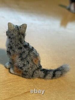 Dollhouse Miniatures 112 Artiste Offre Chat Ooak