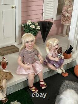 Dollhouse Miniatures Artistes Offres 112 Échelle Ooak Petite Fille