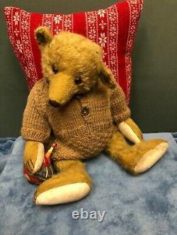 Forget Me Not Bears Par Joy 16 Mohair Bear Jockton Dooly England New With Tag