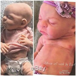 Full Body Super Soft Silicone Baby Doll Par L'artiste Joanna Gomes