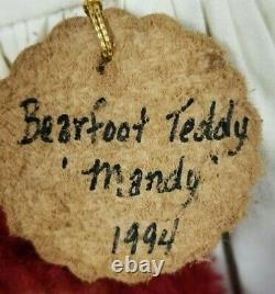 Gloria Franks Mandy Avec Raggedy Ann & Andy Goose Creek Artiste Ours En Peluche 24