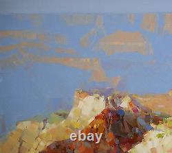 Grand Canyon Paysage, Peinture À L'huile D'origine, Oeuvres Artisanales, Un Des Genres