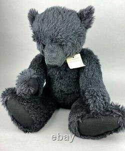 Grandes Créations Conradi Ooak Black Mohair Teddy Bear Nigel Hughes 66cm