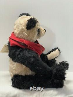 Heidi Steiner Charlie Joint Mohair 24 Growler Panda Bear
