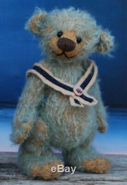 Heintje Par Domi Bears Doris Minuth Artiste Mohair Main Ours En Peluche Ooak