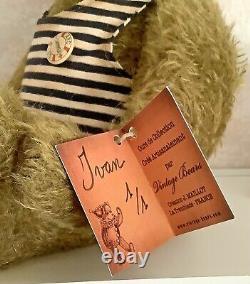 Ivan By Vintage Bears (jerome Maillot) Ooak Artist Bear 2021