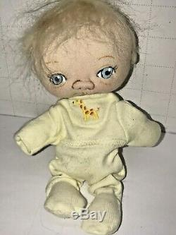 Jan Ooak Shackelford Baby Doll Illustrateurs Sculpture Douce Time Out Bébé Helen