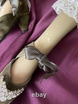 Karen Blandford Alderson Originale Porcelain Doll Artiste Angeline Blonde Le 2/10