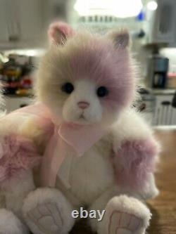 Kittycat Charlie Bears Kitty Brand Nouveau! Visage En Peluche Adorable