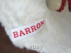 L'artiste Sharon Barron Mohair Ooak Ours 37 Pouces! Rare