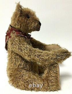 Lori Ann Baker 14 Tan Mohair Artiste Joint Teddy Bear