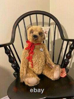 Lori Ann Corelis Golden Mohair Patriotique Ted
