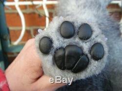 Maine Coon Cat Silver Star Ooak Artiste À La Main Par Olena Makeienkova