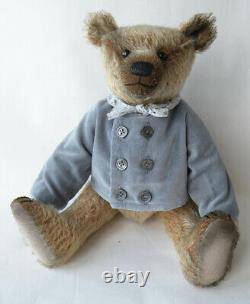 Marcus Par Mister Bear Anglais Main Mohair Artiste Ours En Peluche Ooak
