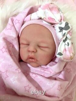 Marshmallow Platinum Silicone Baby Dollannelenefull Bodyaward Artiste Gagnant