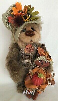 Mohair Artist Bear De Joanne O'hanlon Pour Bear My Sole 12 Pouces