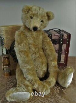 Ooak 21 Artiste Anglais Mohair Growler Bear Grenadier De Lesley & The Bears