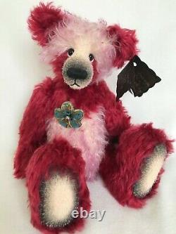 Ooak Artist Bear Par Emma's Bears Larve 12 Pouces Mohair